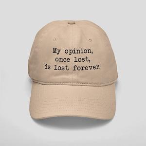 My Opinion - Mr. Darcy Cap