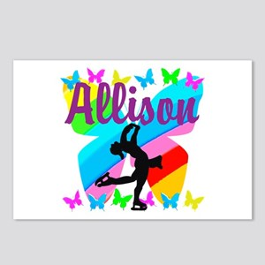 CUSTOM SKATER Postcards (Package of 8)