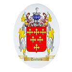 Teodoro Oval Ornament