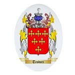 Teodori Oval Ornament