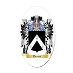 Tenzer Oval Car Magnet
