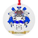 Tenpenny Round Ornament