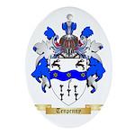 Tenpenny Oval Ornament