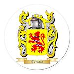 Tenorio Round Car Magnet