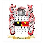 Tennant Square Car Magnet 3