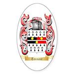 Tennant Sticker (Oval 50 pk)