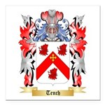 Tench Square Car Magnet 3