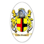 Ten Broeke Sticker (Oval 50 pk)