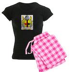 Ten Broek Women's Dark Pajamas
