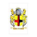 Ten Broek Sticker (Rectangle 10 pk)