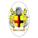 Ten Broek Sticker (Oval)