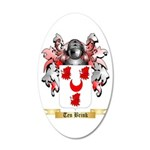 Ten Brink 20x12 Oval Wall Decal