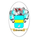 Templeton Sticker (Oval 50 pk)