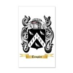 Templer 35x21 Wall Decal