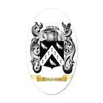Templeman Oval Car Magnet