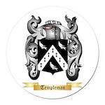 Templeman Round Car Magnet