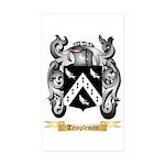 Templeman Sticker (Rectangle 10 pk)