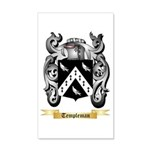 Templeman 20x12 Wall Decal