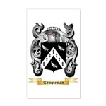 Templeman 35x21 Wall Decal