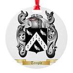 Temple Round Ornament
