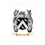 Temple Sticker (Rectangle 10 pk)