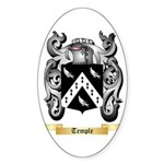 Temple Sticker (Oval 10 pk)