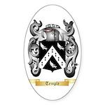 Temple Sticker (Oval 50 pk)