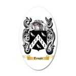 Temple 20x12 Oval Wall Decal
