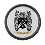 Temple Large Wall Clock