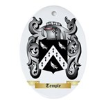 Temple Oval Ornament