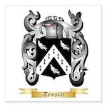Templar Square Car Magnet 3