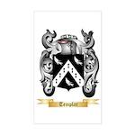 Templar Sticker (Rectangle)