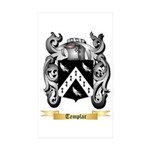 Templar Sticker (Rectangle 50 pk)