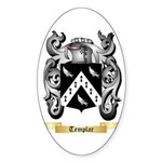 Templar Sticker (Oval 10 pk)
