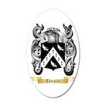 Templar 20x12 Oval Wall Decal