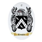 Templar Oval Ornament