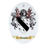 Tempest Oval Ornament