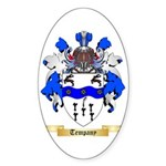 Tempany Sticker (Oval 10 pk)