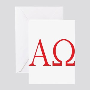 Alpha Omega Greeting Cards