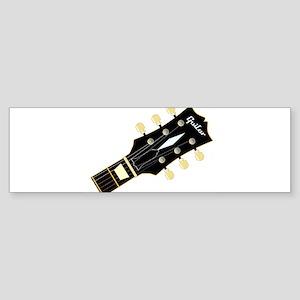 Guitar Headstock Bumper Sticker