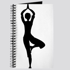Tree Asana Silhouette Journal