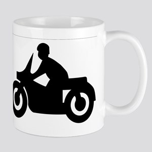 Motorcycle Silhouette Mugs