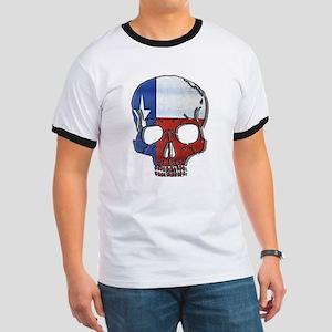 Texas Flag Skull T-Shirt
