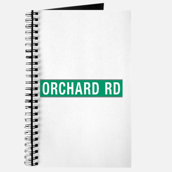 Orchard Rd, Street Sign, Singapore Journal