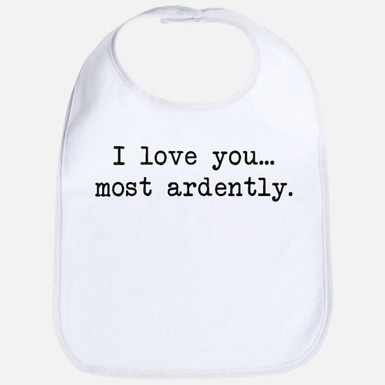 Most Ardently - Mr. Darcy Bib