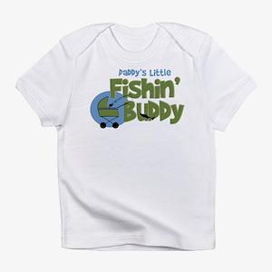 Daddy's Little Fishin' Buddy Infant T-Shir