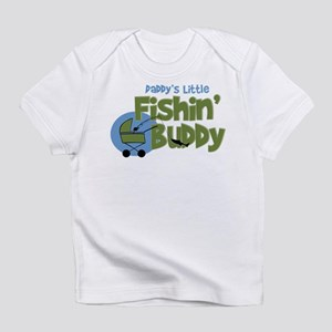 Daddy's Little Fishin' Buddy Infant T-Shir