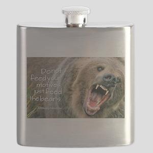 Feed the bears. Flask