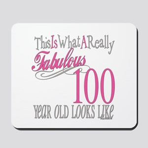 100th Birthday Gift Mousepad