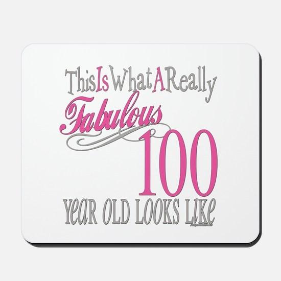100th Birthday Gift Mousepad